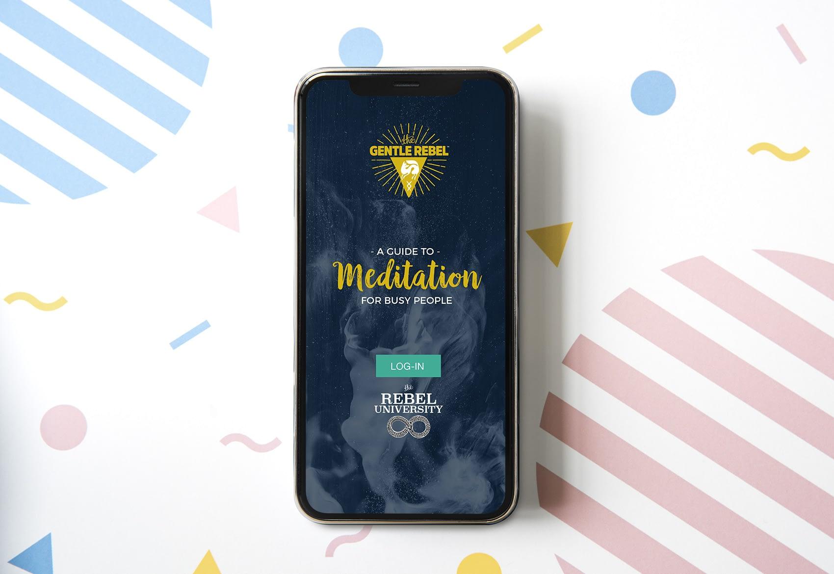 meditation-login